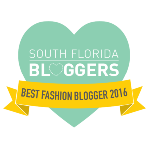 South Florida Blogger Awards 2016: Best Fashion Blogger