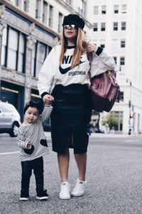 Welcome Fall. Fall Trends, Mommy and Me, Mommy on the go. Washington D.C. fashion bloggers. Street Style. Lola and Vera Pfaehler