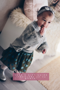 Gift guide for kids and toddlers 12-24 months